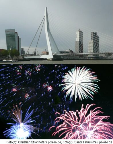 Silvester in Rotterdam